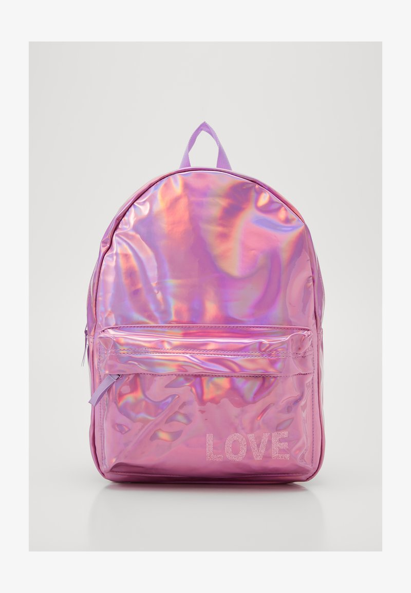 Kidzroom - BACKPACK MILKY KISS SHINY DAYS HOLOGRAPHIC - Batoh - purple