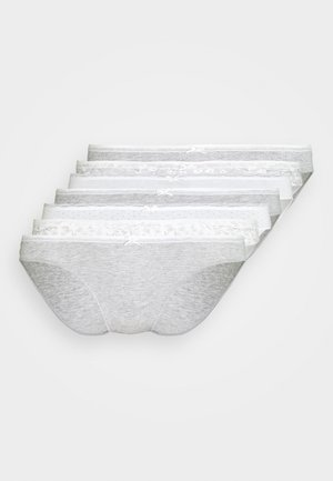 DAILY HISPTER BRIEF 7 PACK - Underbukse - grey