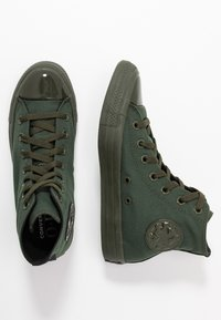 Converse - CHUCK TAYLOR ALL STAR OPI - High-top trainers - thyme/black - 3