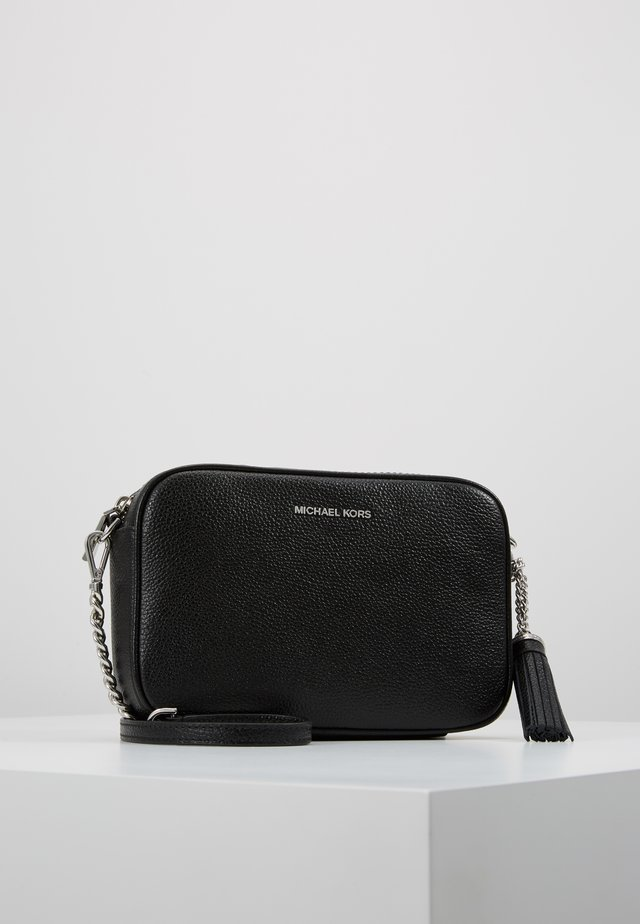 JET SET CAMERA BAG - Torba na ramię - black