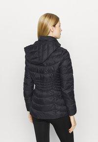 DKNY - ZIP SHORT - Training jacket - black - 2