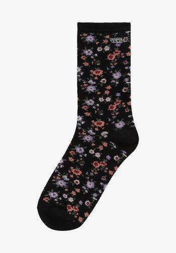 WM TICKER SOCK (6.5-10, 1PK) - Socks - covered ditsy