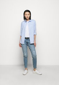 Polo Ralph Lauren - STRETCH - Button-down blouse - medium blue - 1
