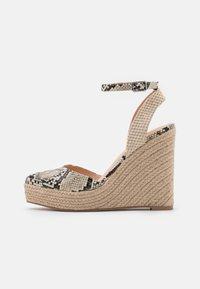 Even&Odd - Platform sandals - beige/brown - 1
