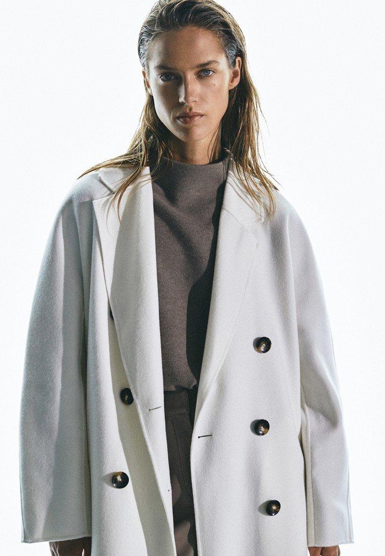 Massimo Dutti Manteau classique - beige - Manteaux Femme iU5C7