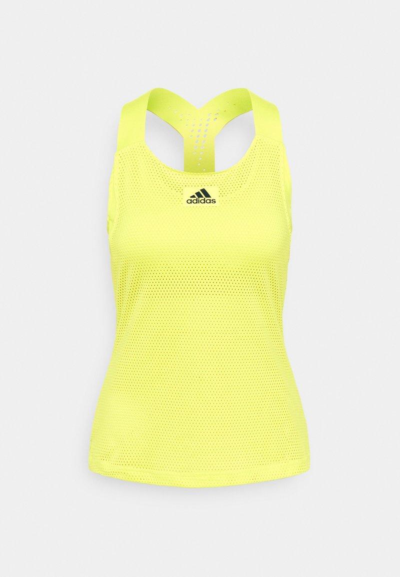 adidas Performance - TANK - Camiseta de deporte - yellow