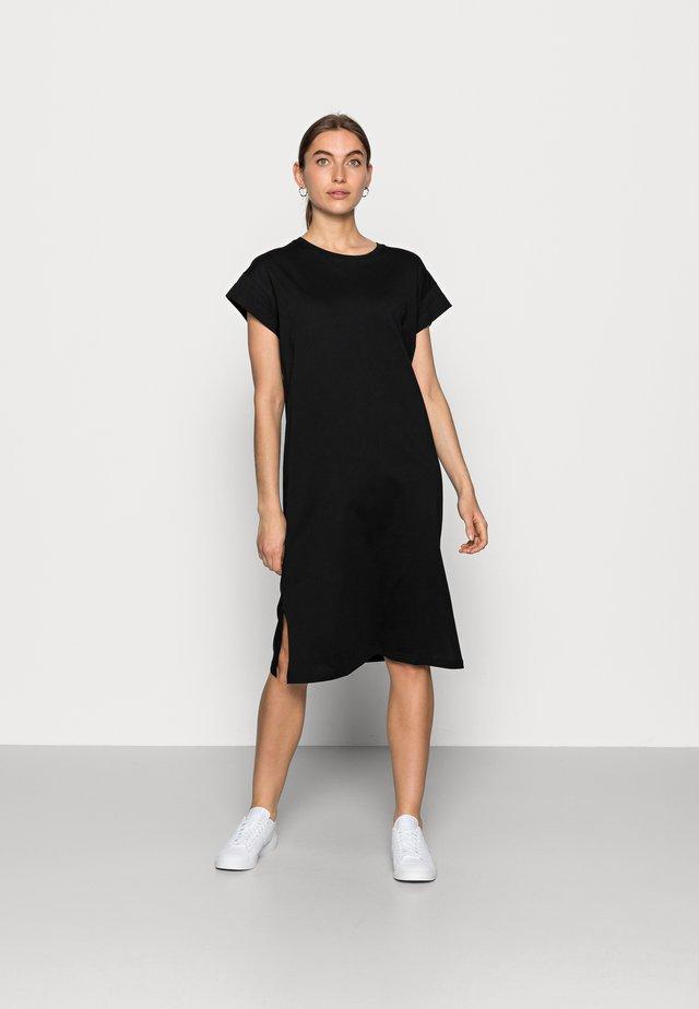ELISSE ALVA DRESS - Jerseykjole - black