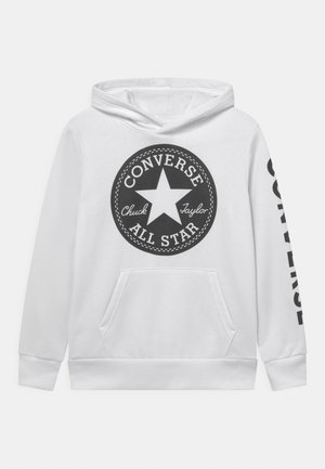 SIGNATURE CHUCK PATCH HOODIE - Hoodie - white