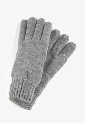 Gloves - heather grey melange