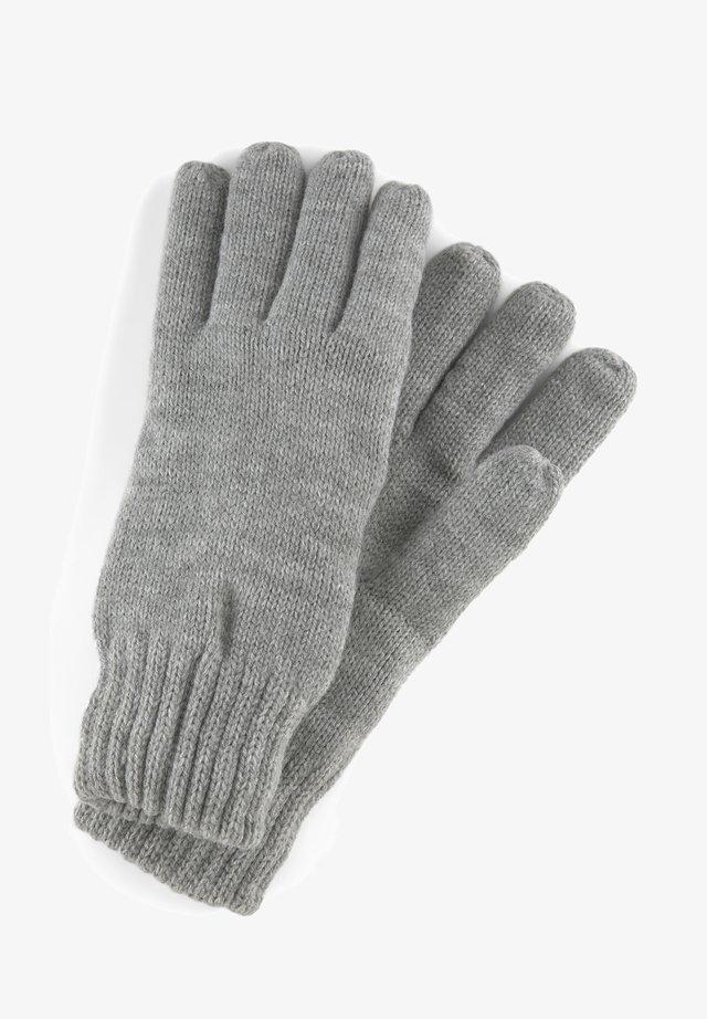 Rękawiczki pięciopalcowe - heather grey melange