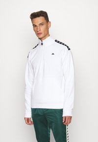 Kappa - HASSO HALF ZIP - Sweatshirt - bright white - 0