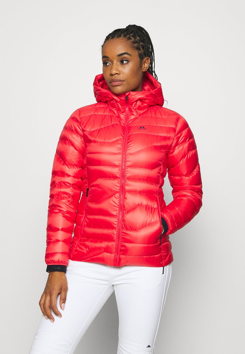 J.LINDEBERG - EMMA  - Down jacket - racing red