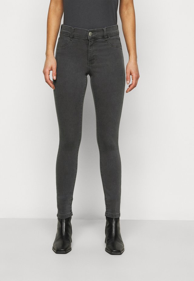 PETITES FRANKIE - Jeans Skinny Fit - charcoal