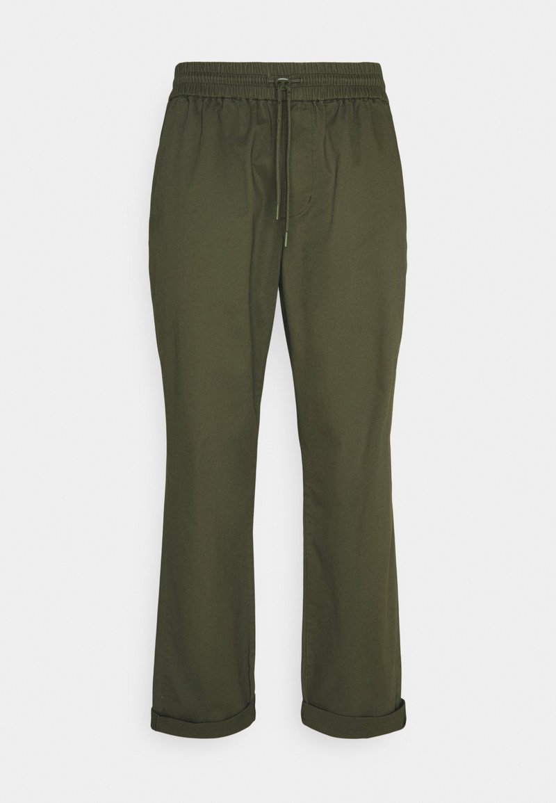 REVOLUTION - CASUAL TROUSERS - Kalhoty - army