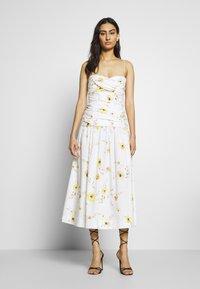 Bec & Bridge - COLETTE MIDI DRESS - Day dress - off white - 0
