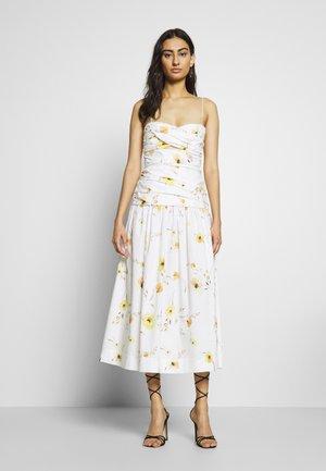 COLETTE MIDI DRESS - Sukienka letnia - off white