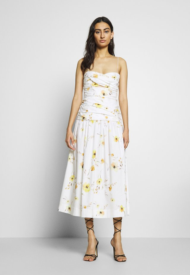 COLETTE MIDI DRESS - Denní šaty - off white
