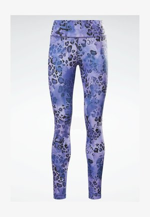 LUX BOLD MODERN ONE SERIES SPEEDWICK REECYCLED WORKOUT LEGGINGS - Legginsy - blue
