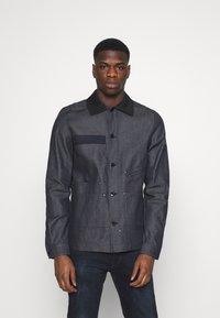 G-Star - WORKER OVERSHIRT - Denim jacket - arak denim - 0