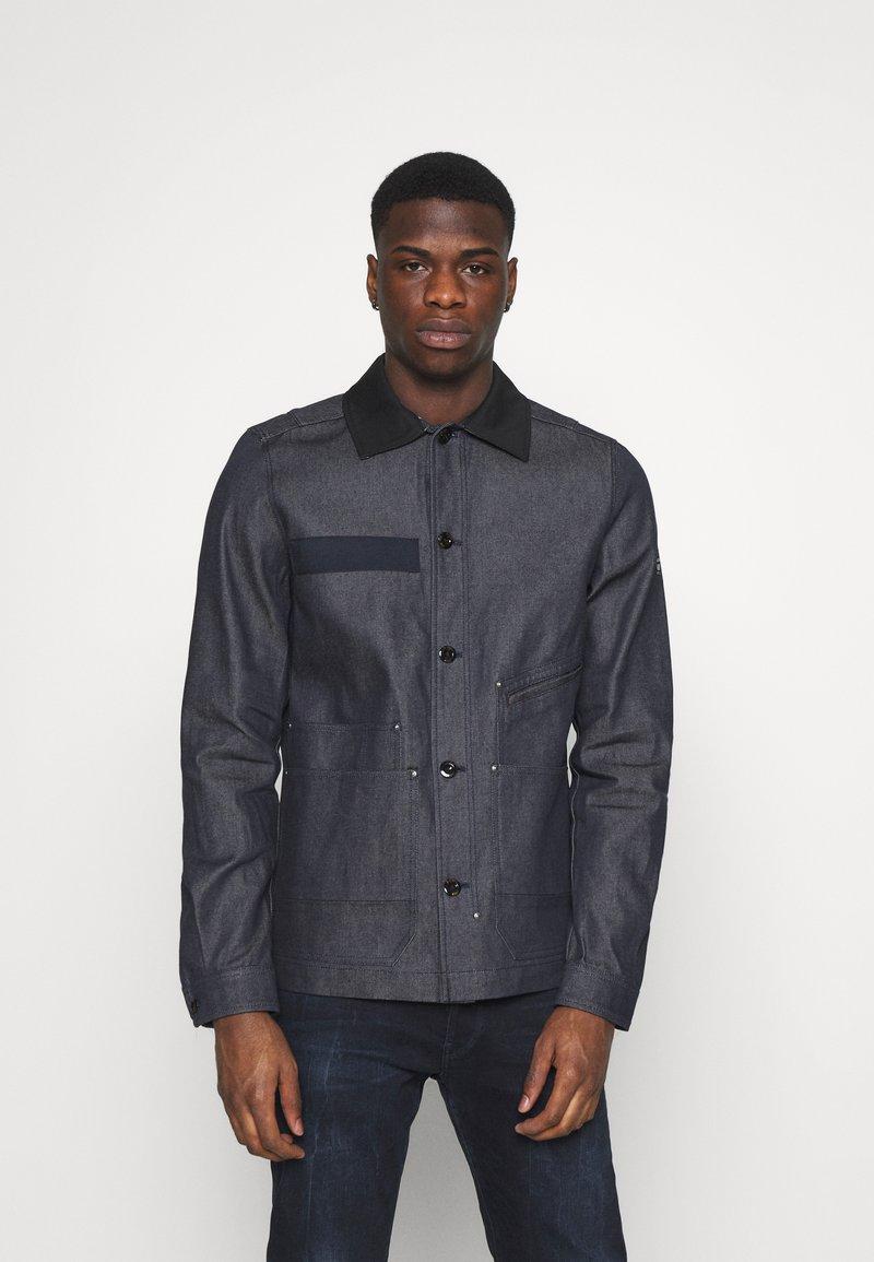 G-Star - WORKER OVERSHIRT - Denim jacket - arak denim