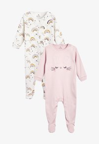 Next - 2 PACK - Sleep suit - lilac - 1