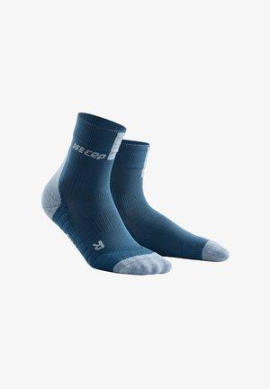 Sports socks - blue/grey