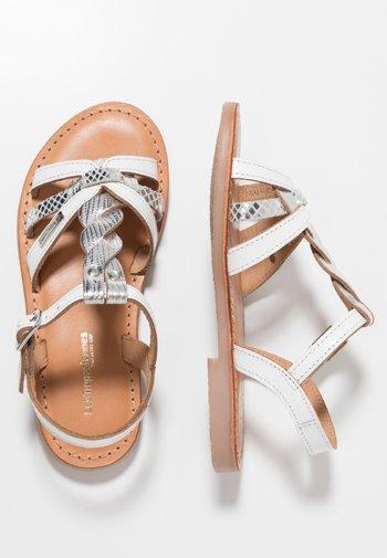 BADAMI - Sandals - blanc/argent