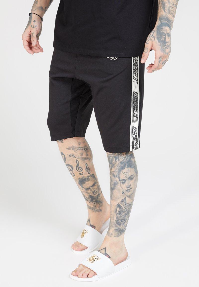 SIKSILK - ZONAL RUNNER - Shorts - black