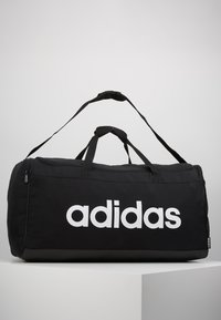 adidas Performance - LIN DUFFLE L - Sporttas - black/white - 0