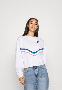Nike Sportswear - Sweatshirt - birch heather/black - 0