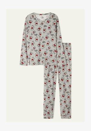 MIT WINNIE POOH PRINT - Pyjama set - grey pooh print