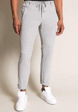 NEW SPARTAKUS - Trousers - hellgrau