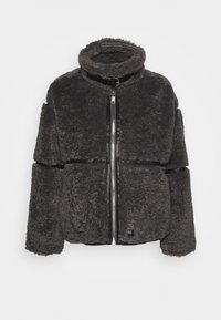 Sixth June - FLUFY AVIATOR JACKET - Winter jacket - grey - 0