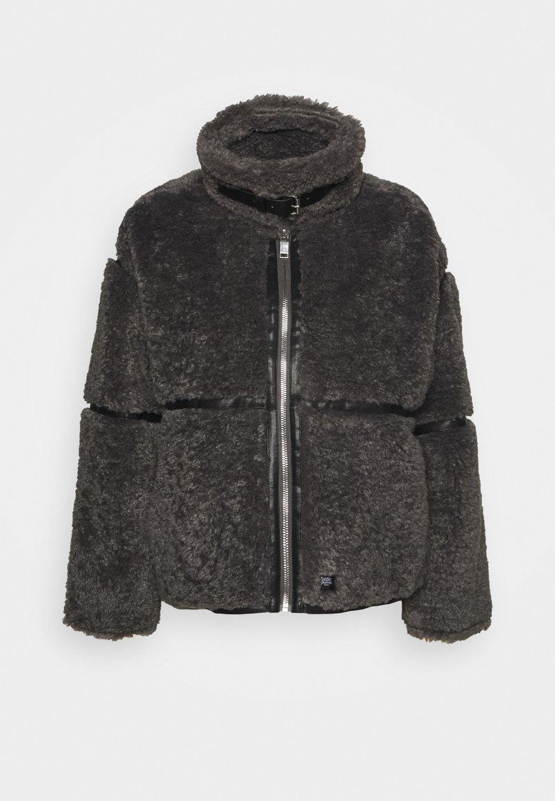 Sixth June - FLUFY AVIATOR JACKET - Winter jacket - grey