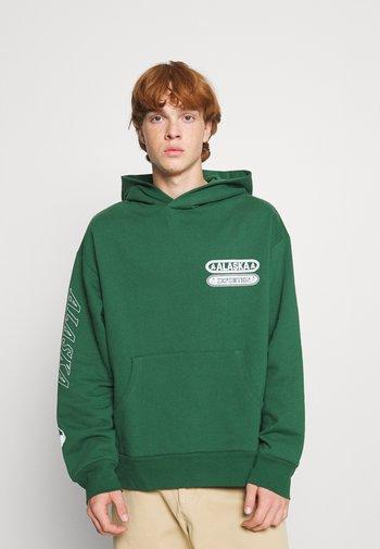 FOREST UTAH HOODIE - Sweatshirt - green
