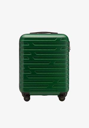 Wheeled suitcase - dark green