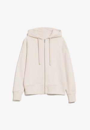 Zip-up hoodie - undyed