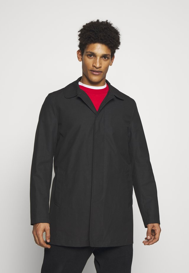 JAMES CAR COAT - Halflange jas - black