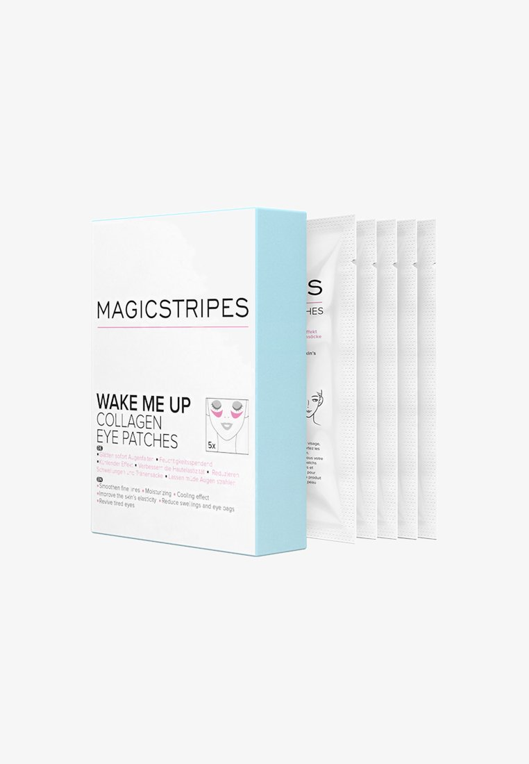 Magicstripes - WAKE ME UP COLLAGEN EYE PATCHES 5 PAIRS - Face mask - neutral