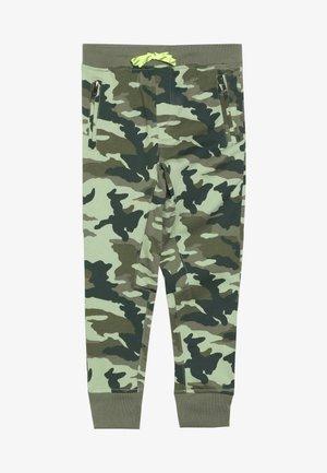 SLIM SLOUCHY  - Teplákové kalhoty - olive green