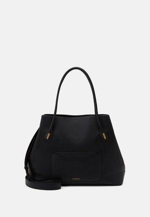 EVASION GRAIN OVERSIZED TOTE - Shopping Bag - noir