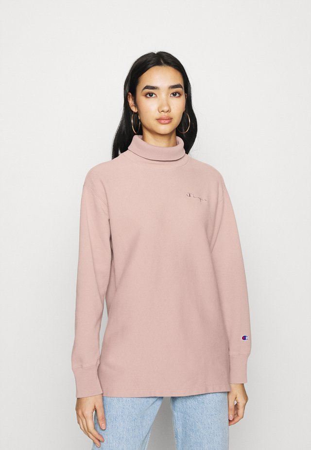 HIGH NECK - Sweater - lilac