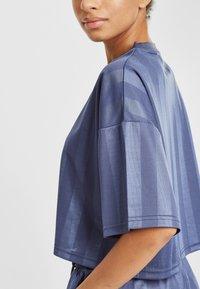 Fila - Print T-shirt - crown blue - 4