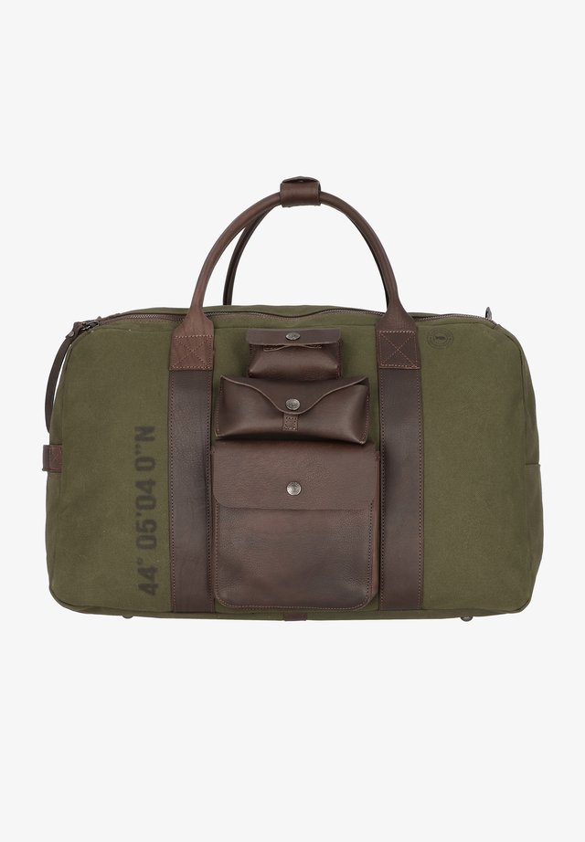 AUGUSTO  - Weekend bag - v.militare + moro + st.nera