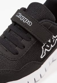 Kappa - FOLLOW - Sports shoes - black/white - 5