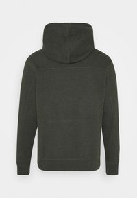 Calvin Klein Jeans - MONOGRAM BADGE GRINDLE HOODIE - Hoodie - deep depths - 1