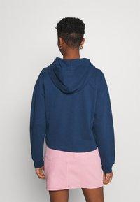Levi's® - GRAPHIC ZIP SKATE HOODIE - Zip-up hoodie - dark blue - 2