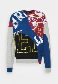Jaded London - COLLEGIATE CUT SEW CREW NECK  - Sweatshirt - grey - 4