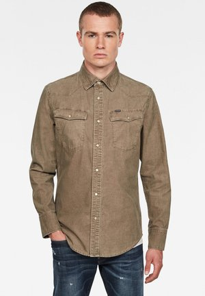 3301 SLIM LONG SLEEVE - Shirt - dk lever gd