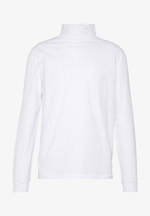 ROLLNECK HANGER - T-shirt à manches longues - white